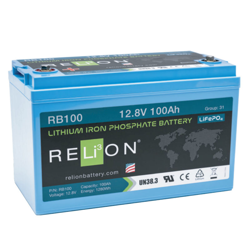 RELiON Lithium Iron Phosphate batteries (LiFePO4)