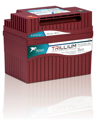 Trojan's Intelligent Lithium Ion Batteries